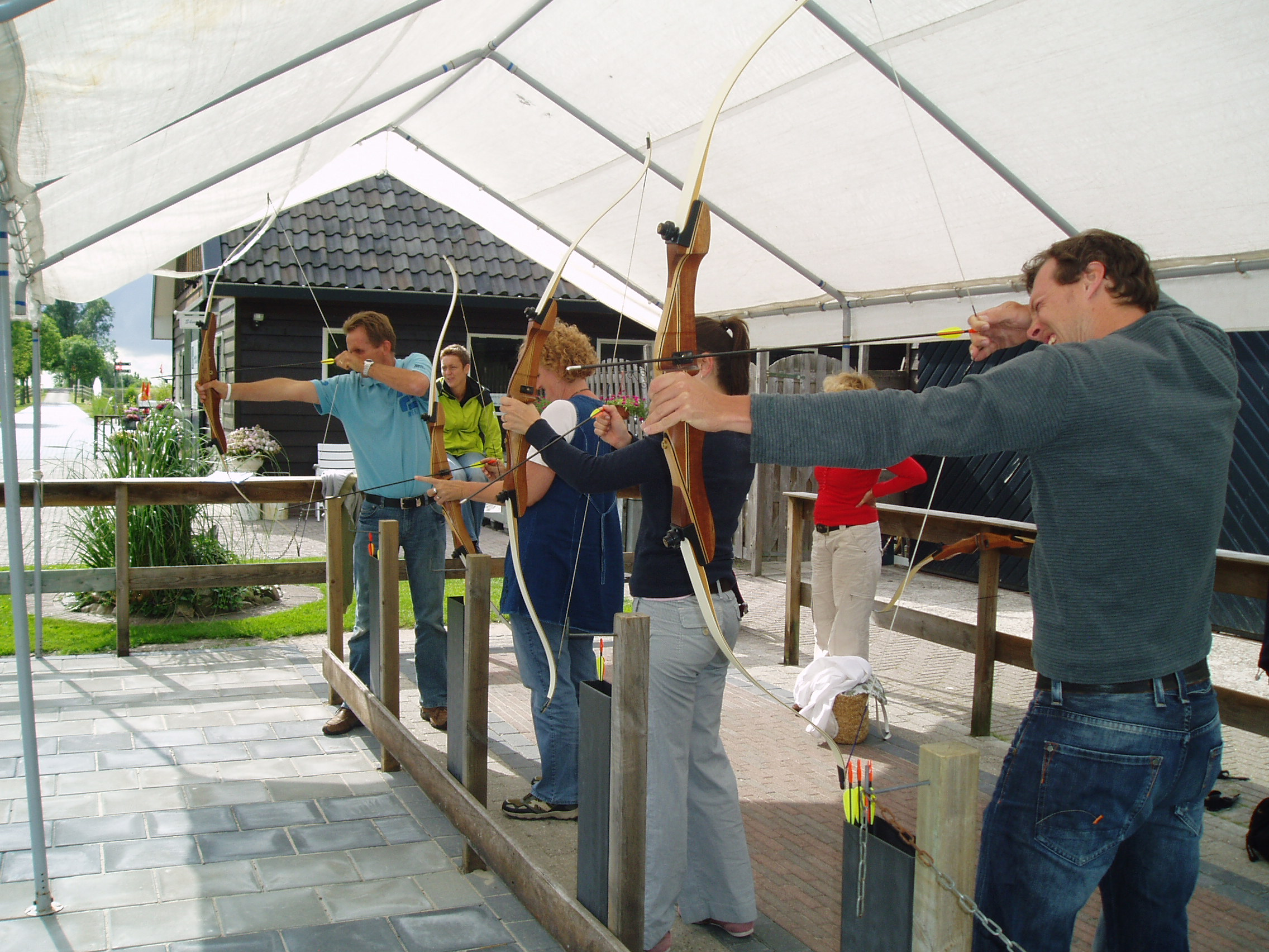 Boogschieten in Giethoorn